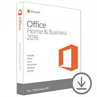 Заказать MICROSOFT OFFICE HOME AND BUSINESS 2016. Цена - 13 884 р.